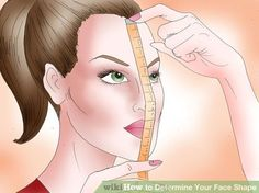 How to Determine Your Face Shape. The shape of your face can affect which hairstyles, glasses, or makeup effects look best on you. To determine your face shape, start by getting familiar with the basic shape categories. Identify your face. Pear Shaped Face, Oblong Face Shape, Oval Face Shapes, Eye Shapes, Contouring Oval Face, Eyebrows For Oval Face, Contouring Makeup, Haircut For Face Shape, Hair Styles Face Shape