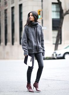 Chic winter outfit ideas for a warm and stylish weekend