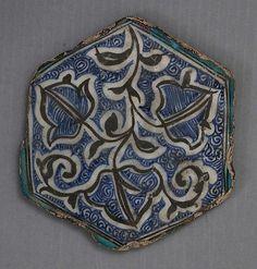 Hexagonal Tile form the Metropolitan Museum of Art