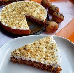 Fit Mrkvový dort Suroviny na korpus: 250g najemno nastrúhanej mrkvy 50g jemných ovsených vločiek 2 vajíčka 1 zrelý banán 1 ČL škorice 1 ČL kypriaceho prášku stévia (ľubovoľné sladidlo podľa chuti) na plnku: 250g jemného tvarohu 1/2 ČL vanilkového extraktu 1/2 odmerky vanilkového proteínu (môžeme vynechať) stévia (ľubovoľné sladidlo podľa chuti) 20g mletých orechov na posypanie Postup: Oddelíme …