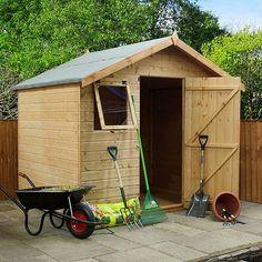 single slope roof workshop 9 x 6 landscaping inspiration pinterest