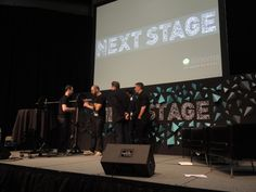 Chatting on stage during I Met My Agency @ #SXSW