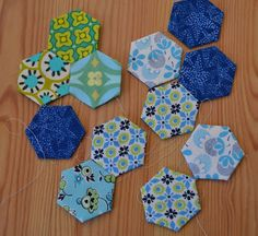 Seaside Stitches: EPP Demo
