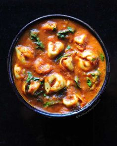 Spinach Tortellini Soup Follow