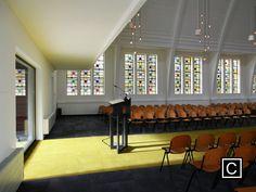 Church window. opportunities church. Architecture. Juliana Familia kerk.