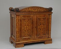 cabinet george bullock, 1814-18, regency