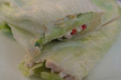 Healthy Salad-wrap