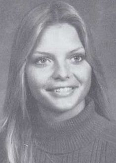 Michelle Pfeiffer yearbook picture