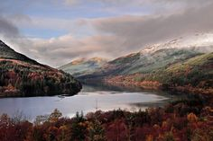 Loch Eck Vista in morning near Dunoon