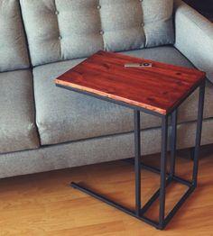 Mid-Century Modern Bracket Side Table