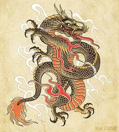 Dragon by ~KatVanGent