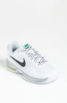 Nike Womens Air Max Cage WhitePure PlatinumVoltAnthracite 115 B Medium *  You can find out more details at the link of the image.(This is an Amazon  affiliate ...