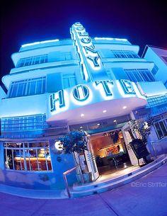 Miami Beach: South Beach  (Colony Hotel, Ocean Drive, Miami Beach, Florida) Hotels in Ocean Drive!