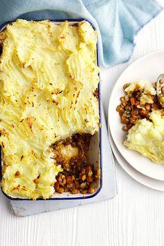 Spiced Lentil Shepherd's Pie | Olive
