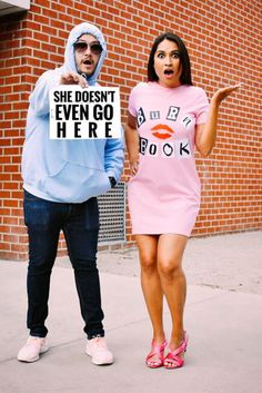 Pay homage to Mean Girls with one of these creative DIY Halloween costumes. Pay homage to Mean Girls with one of these creative DIY Halloween costumes. Unique Couple Halloween Costumes, Hallowen Costume, Halloween Outfits, Costume Ideas, Pirate Costumes, Halloween Diy, Halloween Recipe, Costumes For Men, Halloween Nails