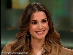 """Queen Rania of Jordan:  """"If we don't look each other in the eye, if we keep our backs to each other, then we're never going to see face to face.  I think that that's a tragedy and we all stand to lose by that."""""""