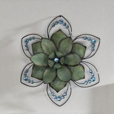 Flower, Fuzi Blue Sparkle