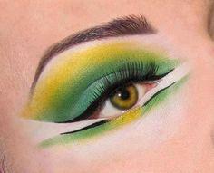 {unique eye makeup}