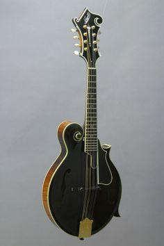 """The Mandolin Archive: """"The Romando"""": 1999 Nugget F5 Deluxe Mandolin #219"""