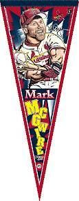 St. Louis Cardinals Mark McGwire Pennant