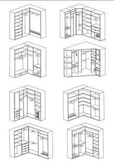 Build in cupboard Bedroom Cupboard Designs, Bedroom Closet Design, Bedroom Cupboards, Master Bedroom Closet, Bedroom Furniture Design, Home Room Design, Corner Wardrobe Closet, Bedroom Built In Wardrobe, Wardrobe Storage