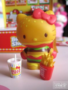 Sanrio Re-ment Hello Kitty Burger Shop