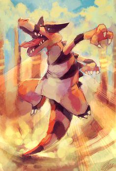 Krookodile used Sandstorm by salanchu.deviantart.com on @deviantART