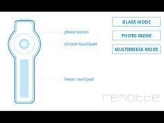 Mando a distancia para las google glass