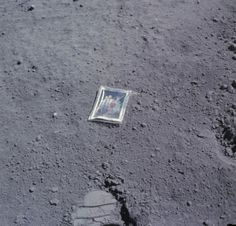 """TYWKIWDBI (""""Tai-Wiki-Widbee""""): This photograph was left on the moon"""