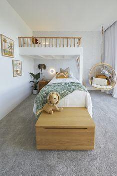 Boy And Girl Shared Bedroom, Shared Bedrooms, Big Girl Rooms, Boy Room, Kids Bedroom Girls, Kids Room Bed, Modern Kids Bedroom, Cool Kids Bedrooms, Kids Bedroom Furniture