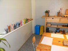 Escola Congrés-Indians, escuela infantil, educación, Barcelona, ambientes New Classroom, Classroom Design, Reggio Emilia, Reggio Documentation, Childcare, Corner Desk, Indoor, School, Furniture