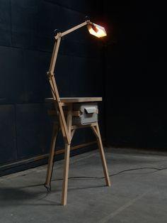 Jeroen Wand . kruklampjeladekastje