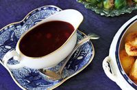 This rich cranberry and port gravy is perfect for drenching your Thanksgiving dinner | Tesco