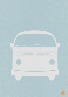 VW Bus Poster Photograph - VW Bus Poster Fine Art Print