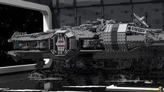 Lego Falcon, Millennium Falcon, Cool Lego, Lego Star Wars, Scene, Architecture, Digital, Building, Projects