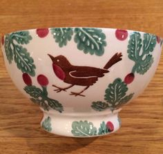 Emma Bridgewater Bird & Berry French Bowl for Fortnum & Mason 2014