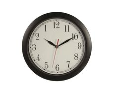 Backwards Clock Novelty Joke Office Wall Clock Novelty New #Unbranded