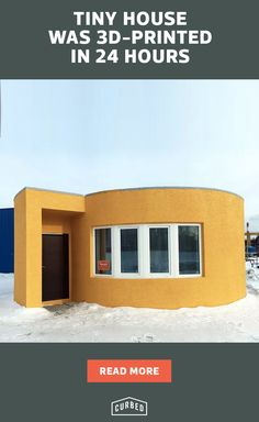 3D printed home was constructed in just 24 hours