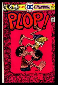 DC Comics PLOP! #16 Basil Wolverton Sergio Aragonés Wally Wood Weird Humor Parody