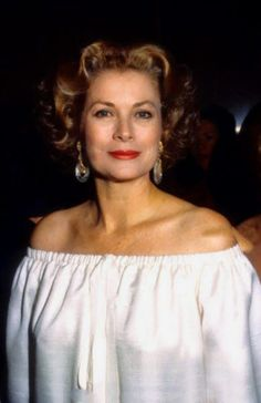 Princess Grace of Monaco at Grand Hotel Gala on June 14, 1978.