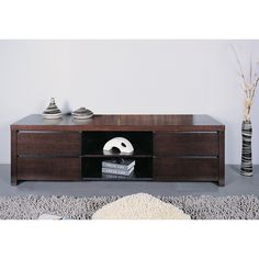 Have to have it. Milan TV Stand - Oak - $776 @hayneedle