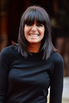 Claudia Winkleman, as the BBC is to reveal the names of all stars earning over Fringe Hairstyles, Pretty Hairstyles, Perfect Hairstyle, Claudia Winkleman Hair, Mid Length Straight Hair, Medium Hair Styles, Short Hair Styles, Shoulder Length Hair, Hair A