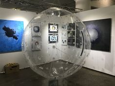 object and paintings at the saatchi art fair at Mana Contemporary in Chicago 2018 Art Fair, Saatchi Art, Chicago, Paintings, Contemporary, Artwork, Work Of Art, Paint, Auguste Rodin Artwork