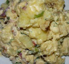 ΜΑΓΕΙΡΙΚΗ ΚΑΙ ΣΥΝΤΑΓΕΣ: Πατατοσαλάτα η απίθανη !!! Potato Salad, Side Dishes, Salads, Food And Drink, Potatoes, Cooking, Ethnic Recipes, Cakes, Kitchen
