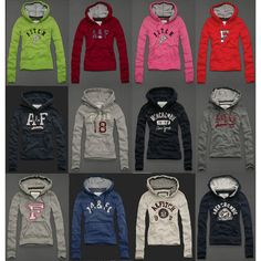 Abercrombie Hollister Womens Sweatshirt Fleece Hoodie Xs, S, M, L,fashion style for you only 20$