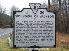 Wounding of Jackson J-39 | Marker History
