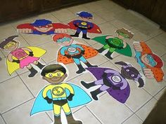 super hero theme classroom ideas