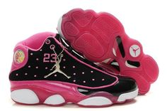 c068b00809de4a Womens Air Jordan 13 is correct for both basketball competition and usual  occasions.The Womens Air Jordan 13 (XIII) Black Pink supplies well  cushioning for ...