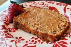 Greek Yogurt Strawberry Banana Bread | Nosh and Nourish