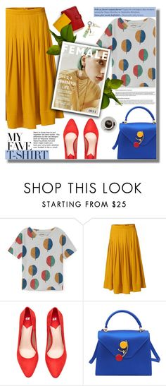 """""""What a Wonderful World"""" by daizydarling ❤ liked on Polyvore featuring WtR, Maryam Keyhani, Balmain and MyFaveTshirt"""